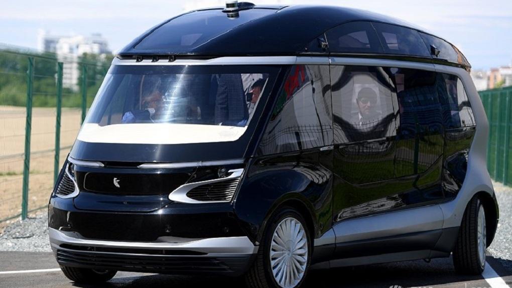 КамАЗ презентовал свой первый беспилотный электробус
