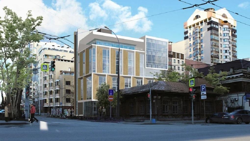 Корпорация Маяк отказалась строить бизнес-центр на Энгельса и продает проект здания вместе с землей