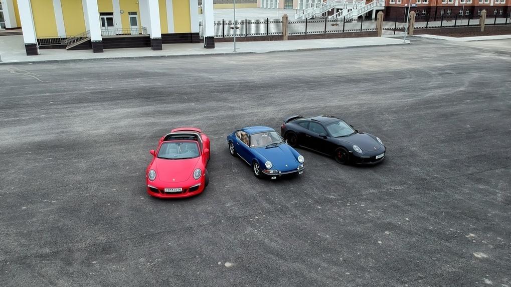 Porsche 911 против самого себя полвека спустя. Так ли он хорош до сих пор?
