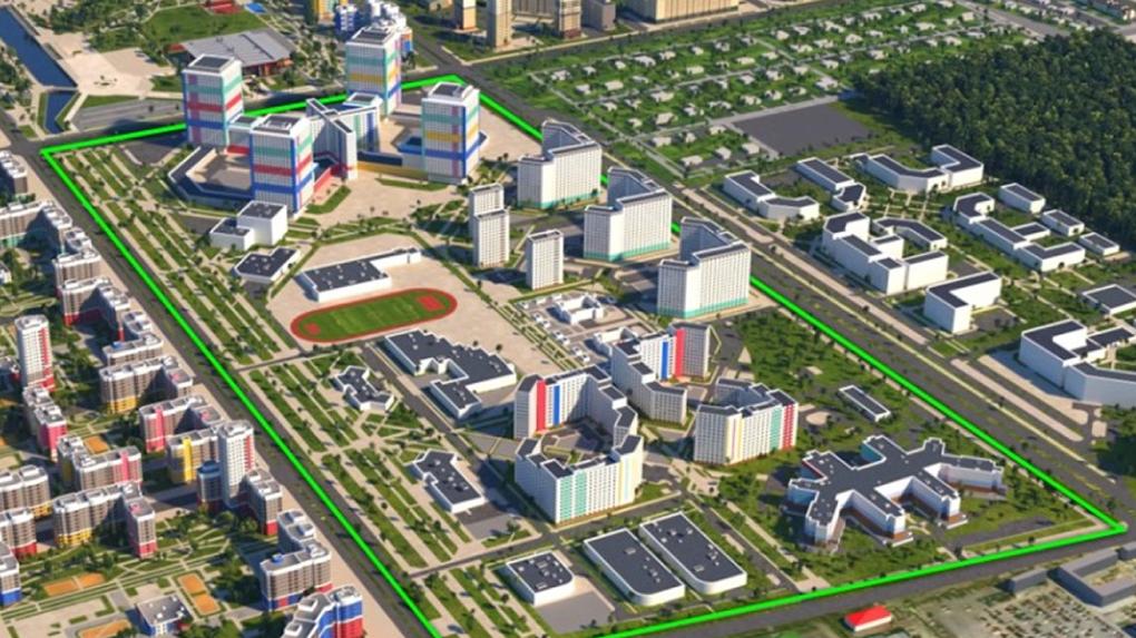 В Академическом построят НИИ ОММ, взрослую поликлинику и благоустроят парк. Сроки