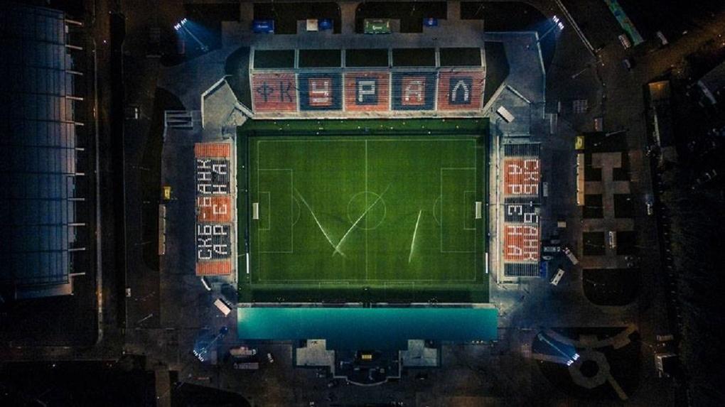 «Екатеринбург Арену» закрыли для футбольных матчей ради спасения дорогого газона