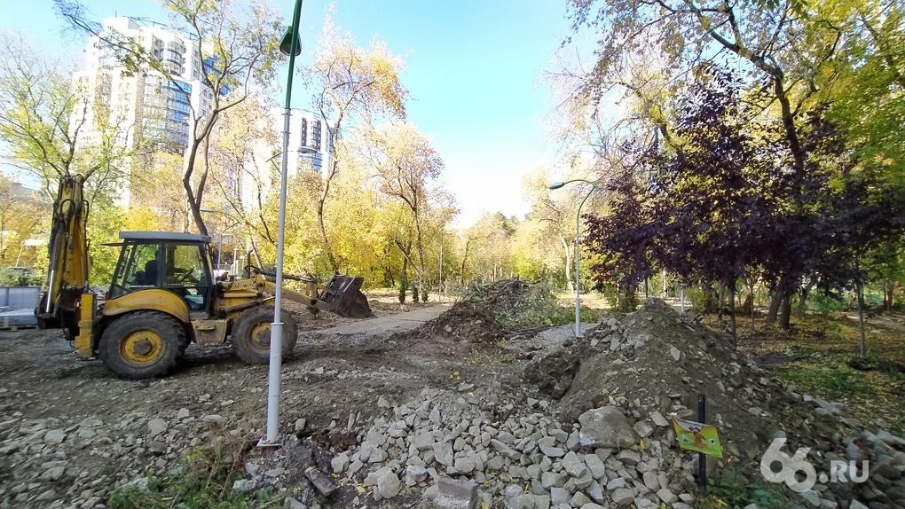 Александр Высокинский пообещал, что в Зеленой роще «скоро станет комфортно». Как парк выглядит сейчас