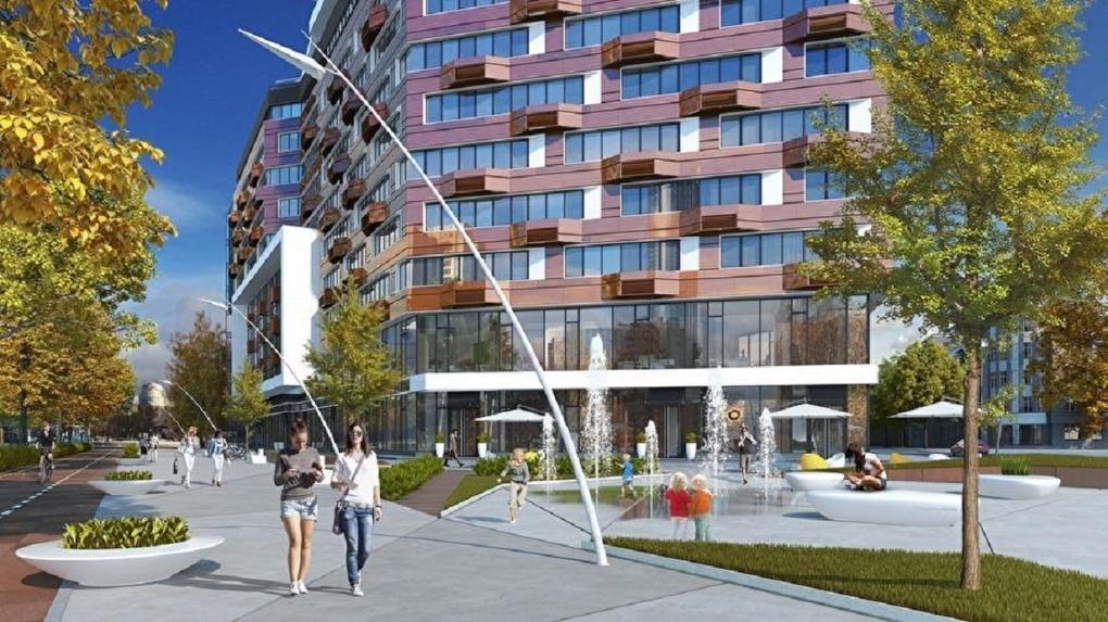 Вместо долгостроя на Октябрьской площади построят научный центр и жилье. Итоговый проект