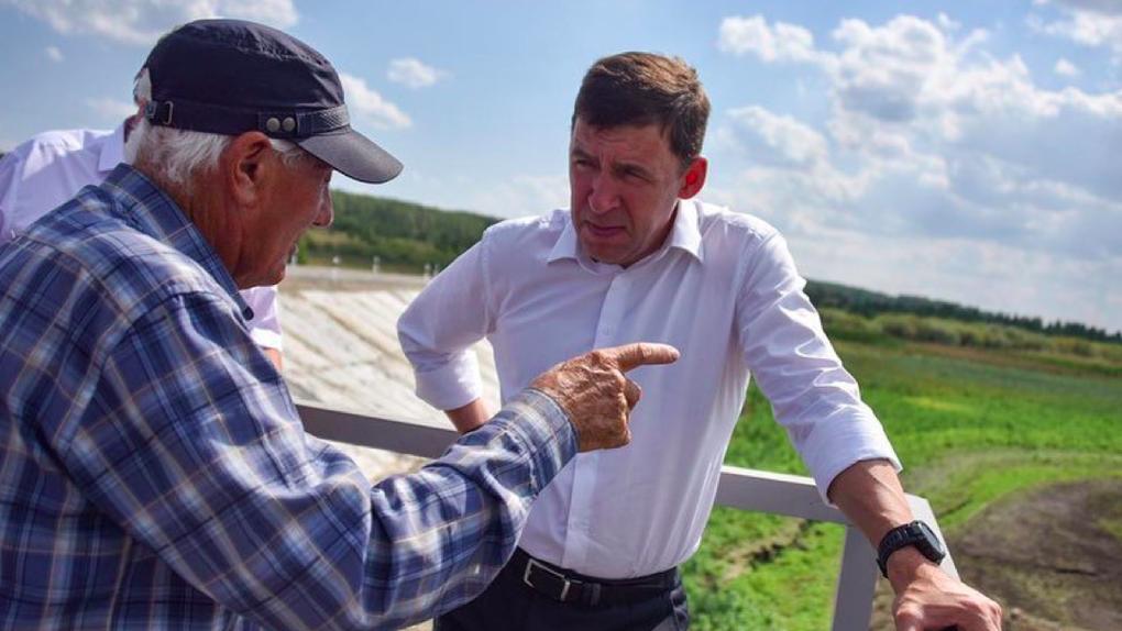 Губернатор Свердловской области ввел в регионе режим ЧС из-за жары