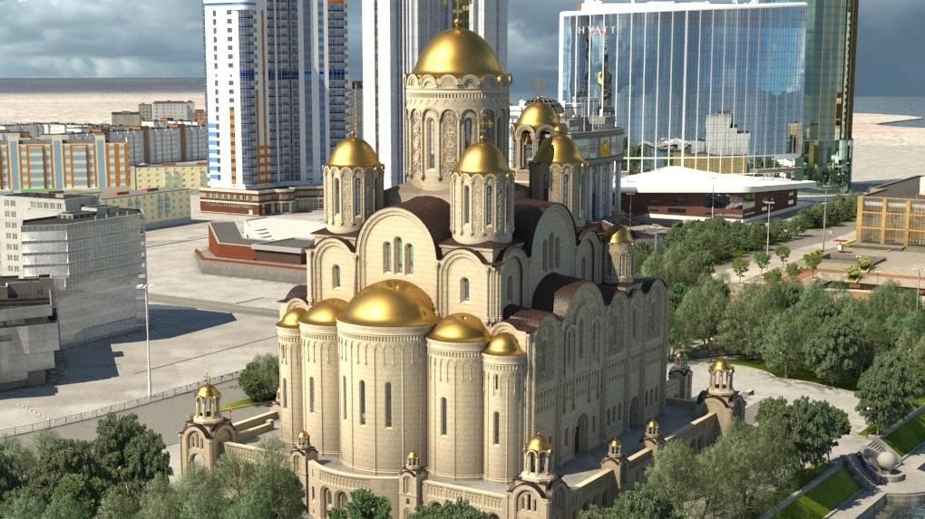 В опросе по храму Святой Екатерины оставят только две площадки