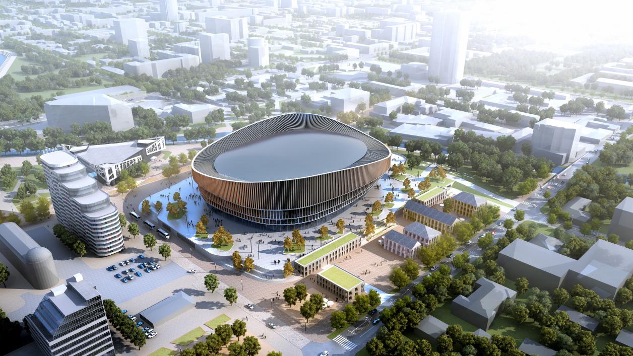 От стадиона «Шальке» до дворца XVIII века: 10 проектов от авторов новой арены на месте телебашни
