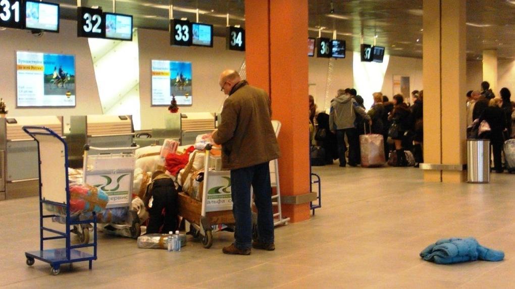 В Кольцово ужесточили досмотр пассажиров. Приезжайте сильно заранее