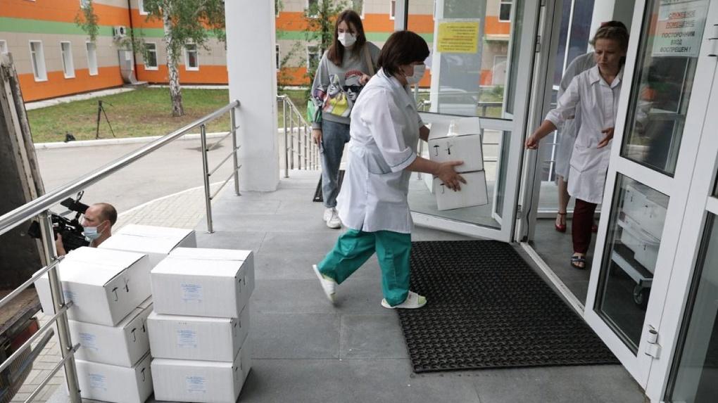 Фонд святой Екатерины потратил 40 млн рублей на средства индивидуальной защиты для врачей