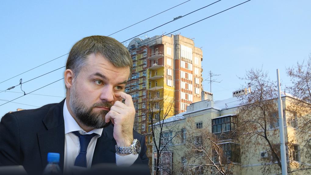 Алексей Гончаров хочет спасти вице-мэра Екатеринбурга Алексея Бирюлина и достроить ЖК «Да Винчи»