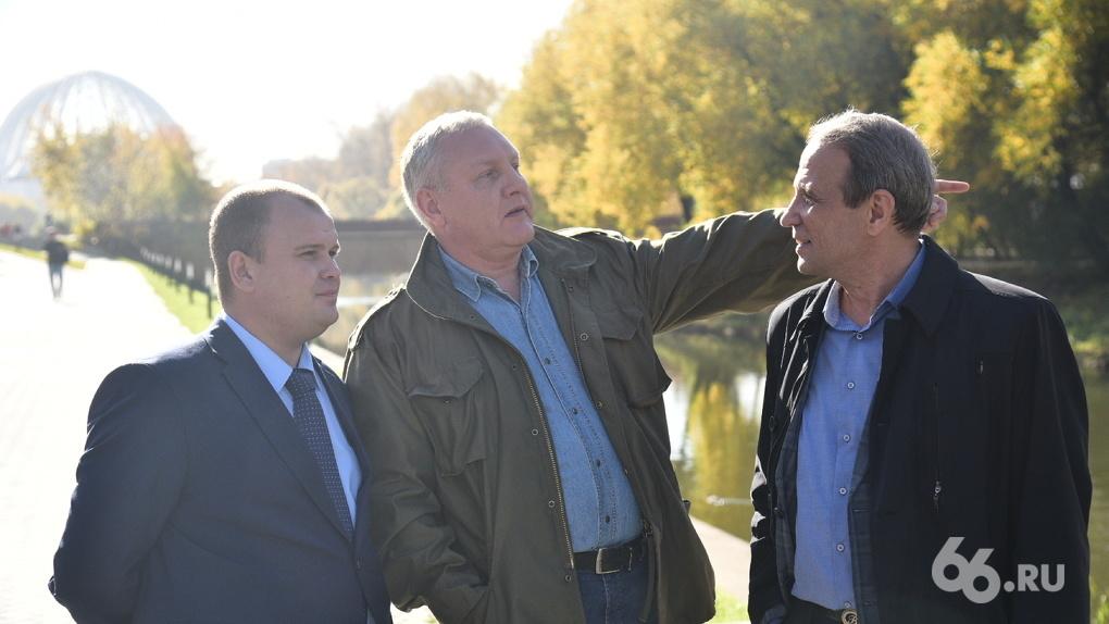 «Ну просто река Сена!» Репортаж с открытия набережной Исети с комментариями депутата Колесникова