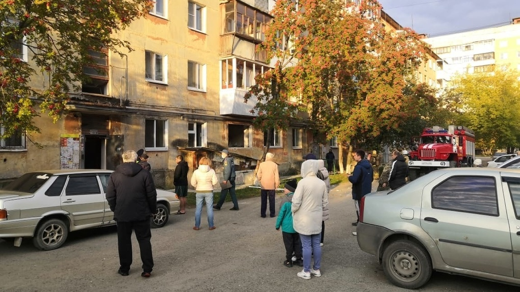 В Верхней Пышме взорвался газ в жилом доме. Фото