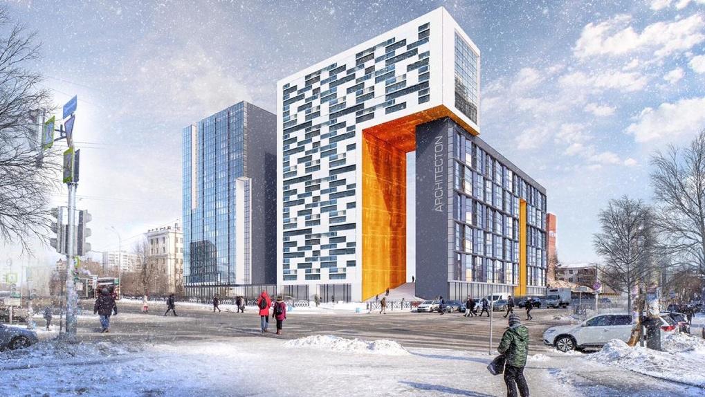 Владимир Коньков обошел запрет и начал строительство на месте снесенного ПРОМЭКТа. Как ему это удалось