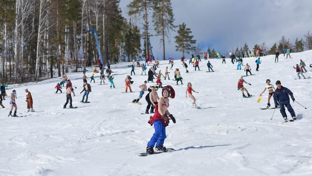 Альпийская весна на южноуральском курорте – на «Солнечной долине» разгар горнолыжного сезона