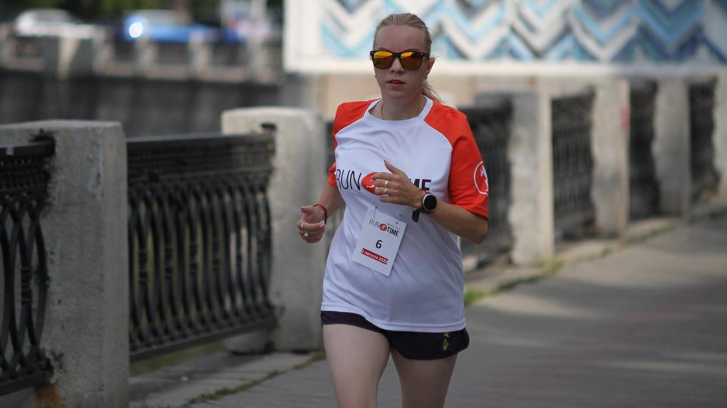 В Екатеринбурге начался отмененный из-за коронавируса забег. Фоторепортаж