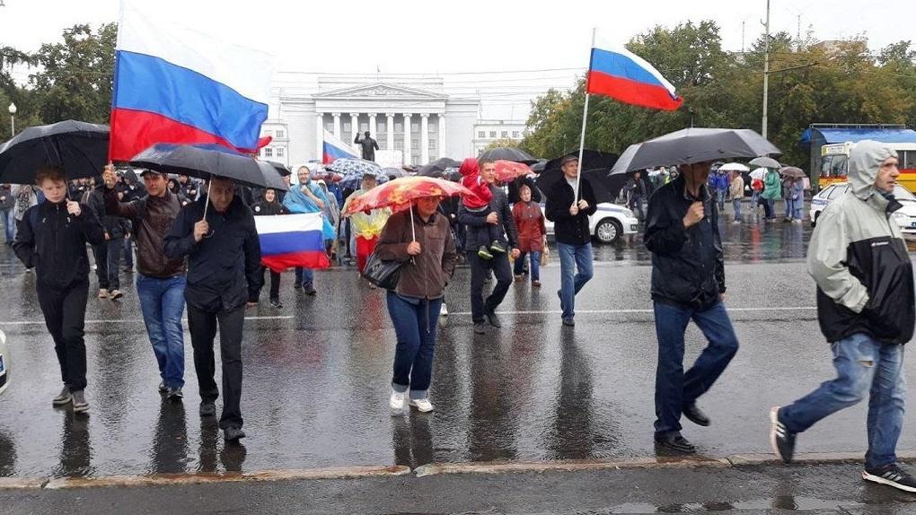 Шесть арестов, 24 профбеседы: итоги митинга против пенсионной реформы в цифрах МВД