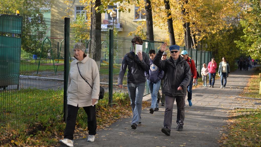 В Екатеринбурге прошла сентябрьская «Майская прогулка». Фоторепортаж