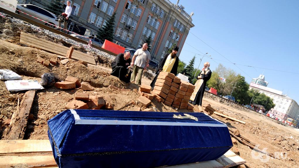 Живем на костях: подробная карта старинных кладбищ Екатеринбурга