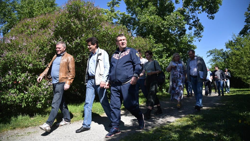 Александр Высокинский отдаст застройщику парка РТИ землю в Академическом ценой в 300 миллионов рублей