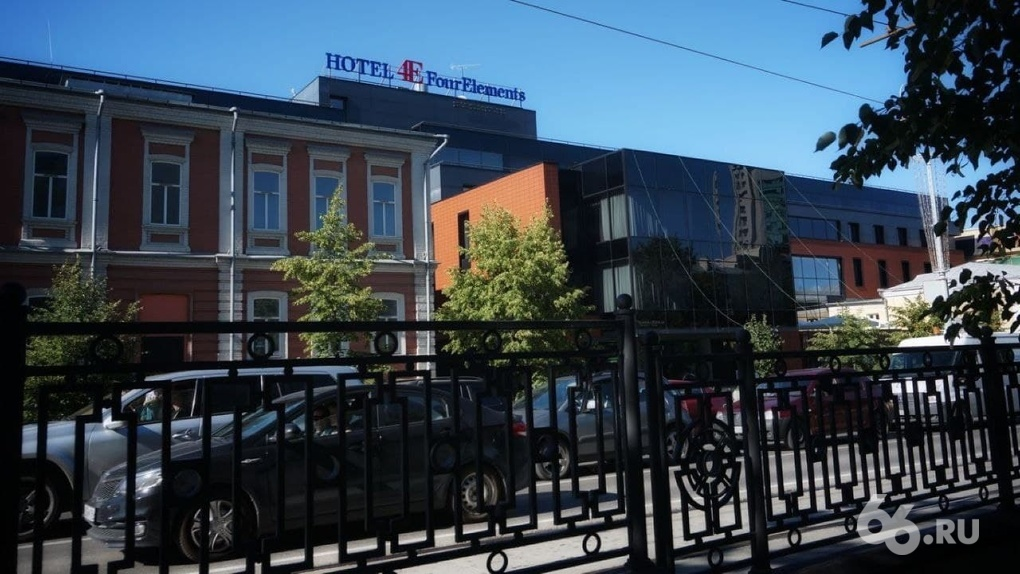 Латвийский банк-банкрот через суд забирает отель в центре Екатеринбурга