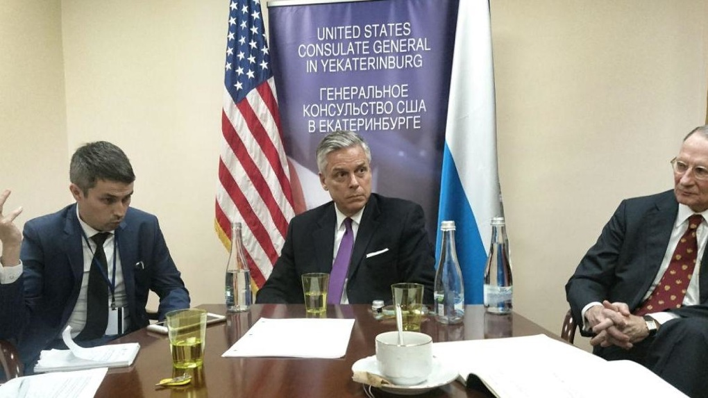 Посол США в России Джон Хантсман: в ближайшее время в Екатеринбурге возобновятся собеседования на визы