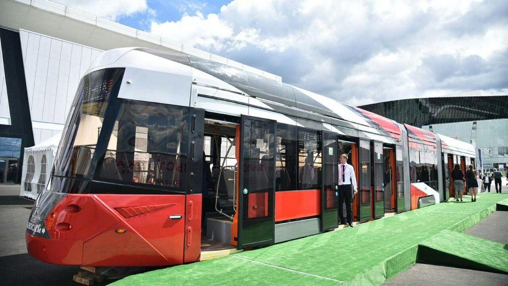 УВЗ презентует новый инновационный трамвай на «Иннопроме». Да, опять. Но он никогда не появится в городе