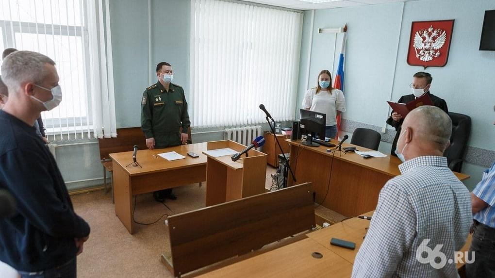 Военных строителей приговорили к девяти годам условно за хищения при реставрации усадьбы для прокуроров