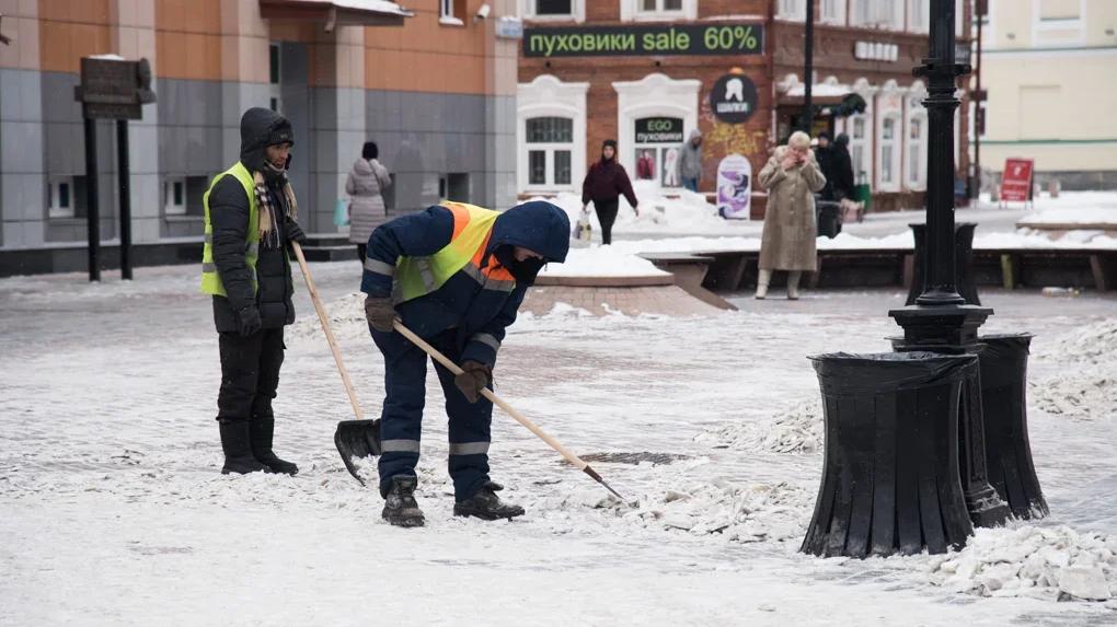 В Екатеринбурге закончились дворники