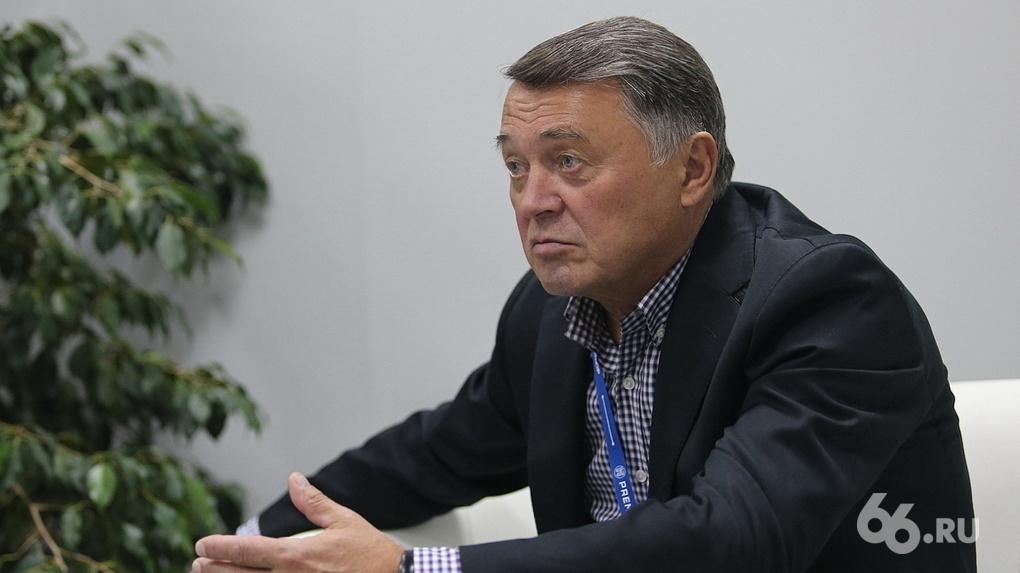 Глава Градсовета Екатеринбурга Михаил Вяткин: «Когда-то мы увлекались закатыванием города в бетон, но теперь хочется назад к природе»